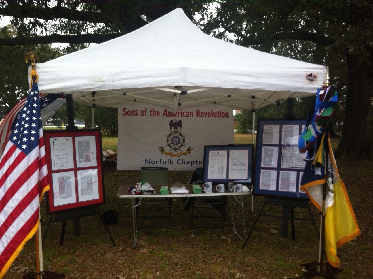The Norfolk Chapter Tent