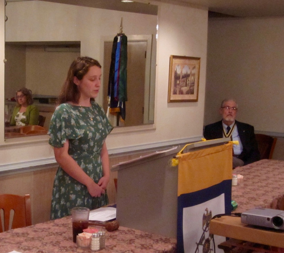 "Hannah Wheaton presents her Knight Essay entitled ""3/5th's Compromise and Population-Based Electoral Districts"""