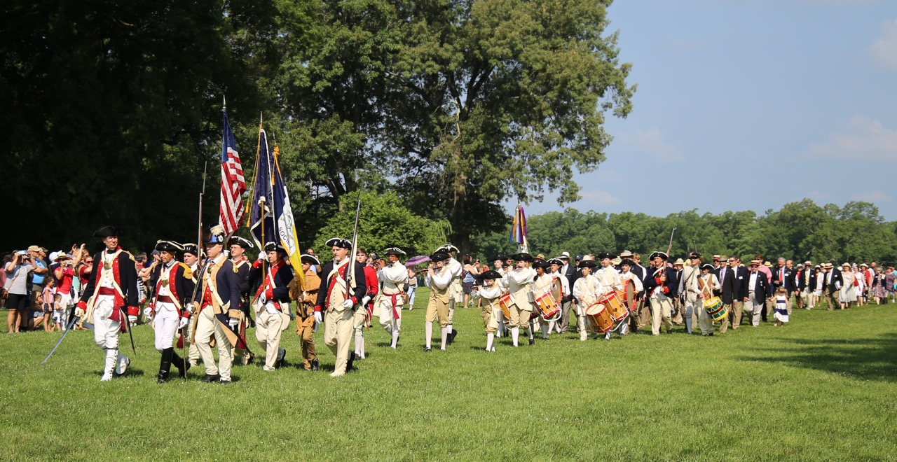 The March To The Tomb at Mount Vernon